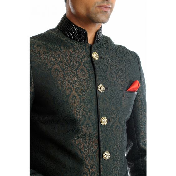 Bandhgala Blazer for Wedding Wear